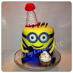 The Whoopie Pie And Minion Were So Cute As Toppers For This Birthday