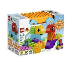 Amazon.com: LEGO DUPLO Creative Play Toddler Build and Pull Along 10554: Toys & Games