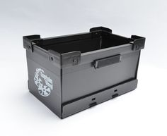 CAPTAIN VYINYL 7inch CRATES (Black) Crates, Shop, Black, Black People, Shipping Crates, Store, Drawers, Barrel