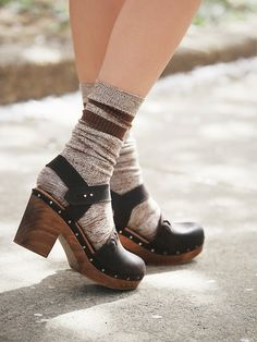 Free People Devon Clog at Free People Clothing Boutique