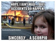 scorpio memes on tumblr - Google Search