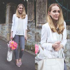 Outfit White blazer