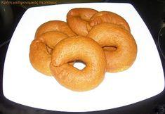 Greek Recipes, Bagel, Doughnut, Healthy Recipes, Healthy Food, Bread, Cookies, Desserts, Greece
