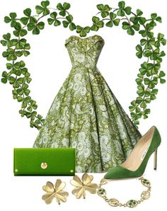 Happy Saint Patrick's Day!Wishing this was my outfit today.