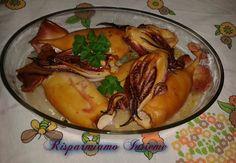 calamari arrostiti al salmoriglio ricetta e foto su https://www.facebook.com/www.vocidoltreoceano.it lascia il tuo like