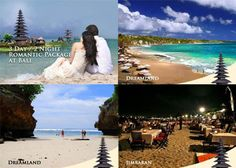 3D/2N Romantic Package Aleson Tour & Travel at Bali (Half Day Tour Dreamland, Jimbaran + Breakfast + 1 x Dinner) Only Rp 1.470.000