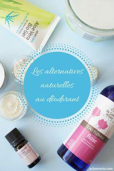 Zoom sur les alternatives naturelles au déodorant