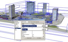 Optimizing SketchUp performance. Model Info also displays the number of groups and components (click to enlarge).
