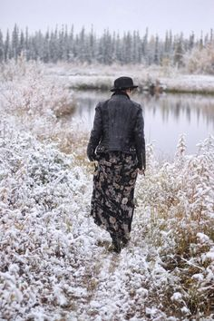 Alaskan Weredork: A Style Diary // so glad I don't live in Alaska... but we'll have snow here soon enough.