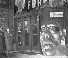 horrorcreepster:  Frankenstein (1931) theatre marquee