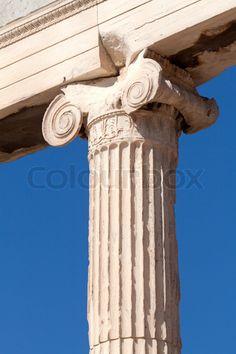 Pilaar ornamenten: versierde pilaarnatuurvormen die herhaaldelijk worden gebruikt.