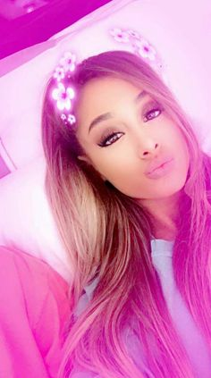 Pretty in Pink, Ariana Grande. Follow rickysturn/amazing-women