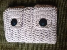 """Crocheted android tablet cover, fits any 7"""" tablet."""