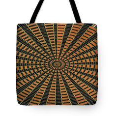 Color Circle Orange Abstract Tote Bag by Tom Janca.  The tote bag is machine washable, available in three different sizes, and includes a black strap for easy carrying on your shoulder.  All totes are available for worldwide shipping and include a money-back guarantee.