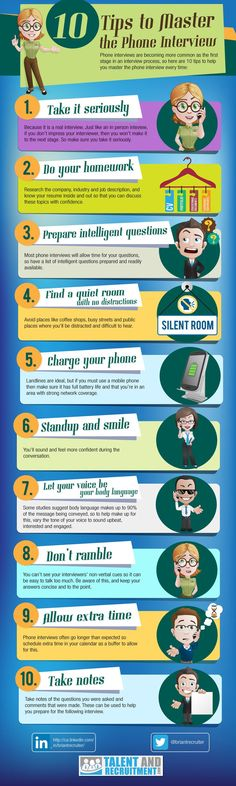 10 Tips for the Perfect Phone Interview theundercoverrecruiter.com