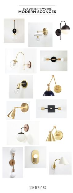 FAVORITE MODERN SCONCES