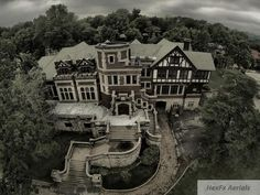 a recent aerial view of the Epperson House in 2014