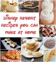 21 Disney Recipes You Can Make At Home  Bring the wonderful world of Disneyland back to your own place.