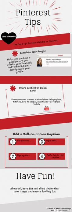 Top 3 tips for more visibility on Pinterest