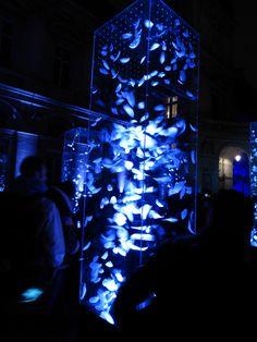 Njord, Esprit du Vent by Wendy Huntington Lyon Hôtel de ville - Fête des Lumières 2014