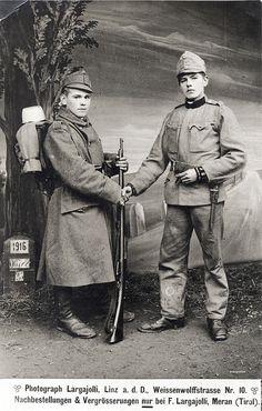 Austro-Hungarian infantrymen by drakegoodman, via Flickr