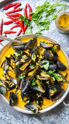 See related links to what you are looking for. Fish Recipes, Seafood Recipes, Indian Food Recipes, Cooking Recipes, Seafood Pasta, Fish And Seafood, I Want Food, Food Plus, Healthy Recepies