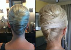 blonde wed twist