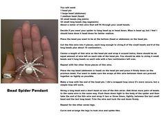 Bead Spider Pendant