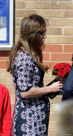 Catherine, Duchess of Cambridge in Manchester for charity initiative with new patronage Place2Be. April 23, 2013.