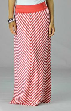 Deborah and Co. - Striped Maxi Skirt , $44.95 (http://www.deborahandco.com/striped-maxi-skirt/)