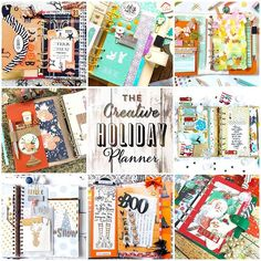 Friends!! I am so excited to share with you my upcoming new workshop! The Creative Holiday Planner! This workshop much like our original creative planner workshop is all about creative and functional planning but for the upcoming holiday and seasons! In this workshop we cover Halloween Fall Christmas and Winter! We also cover projects for all types of planners including Spiral Disc Midori and Ring bound planners. I have 7 awesome planner girls joining me for this workshop! @thefoxyfix…
