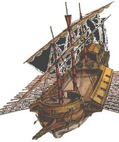 Intrinsic and expectorant: Galeras and galeasses at the Battle of Lepanto Battle Of Lepanto, Ship Sketch, Flying Ship, Remo, Armada, Boat Design, Fantasy Inspiration, Underwater World, Ship Art