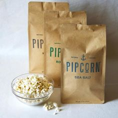 Pipcorn Combo Pack: Rosemary, Sea Salt & Lemon Truffle. Hulless variety of popcorn is crunchy yet tender. Naturally grown and popped in small batches using extra virgin olive oil. 2012 Oprah's favorite things.