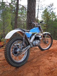 Had great times on one of AND 350 MODELS. - would pull wheellies in all gears Classic Motors, Classic Bikes, Vintage Bikes, Vintage Motorcycles, Bobber, Bultaco Motorcycles, Motos Trial, Trial Bike, Retro Bike