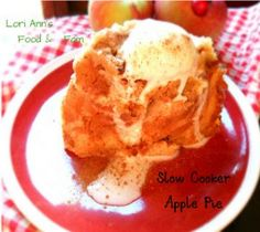 3-Step Apple Pie - Learn how to make easy and delicious slow cooker apple pie with this simple slow cooker dessert recipe.