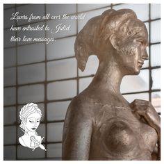 Innamorati di tutto il mondo hanno affidato a Giulietta i loro messaggi d'amore. @julietsecrets #julietsecrets #casadigiulietta #juliethouse #lovers