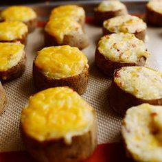 If you already know how to make twice baked potatoes, this post may seem unnecessary. And indeed, I won't be blowing the lid off of the things, as mine are about as basic and straighforward as they...