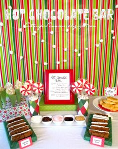 Parties For Pennies: Hot Chocolate Bar Part Two (The How To)