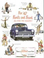 Ford Six 1947 Ad Picture