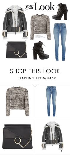 """""""51"""" by meldiana ❤ liked on Polyvore featuring 10 Crosby Derek Lam, Yves Saint Laurent, Chloé, Burberry and Charlotte Russe"""