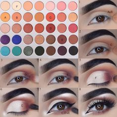 Eye makeup is able to enhance your beauty and help to make you look and feel fabulous. Discover just how to begin using make-up so that you may easily show off your eyes and stand out. Discover the most beneficial tips for applying make-up to your eyes. Makeup Goals, Makeup Inspo, Makeup Inspiration, Makeup Tips, Beauty Makeup, Makeup Ideas, Makeup Trends, Makeup Products, Beauty Products