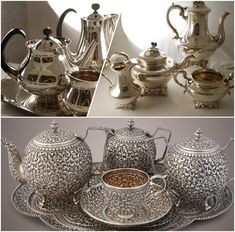 Tips on How to Sell Your Antique Silver Tea Set Antique Buyers, Antique Tea Sets, Silver Tea Set, Antique Silver, Plaster, Antiques, Things To Sell, Tips, Painting
