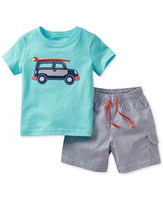 Carter's Baby Boys' 2-Piece Tee & Shorts Set