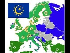 The most islamic countries in Europe The Calculated guess (2017-2057) - YouTube