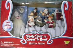 Santa Claus is Comin' to Town Winter & Friends Action Figures