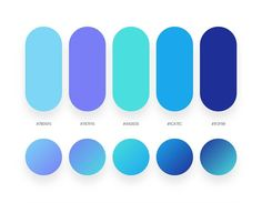 32 Beautiful Color Palettes With Their Corresponding Gradient Palettes 32 hermosas paletas de colores con sus correspondientes paletas de degradado Flat Color Palette, Purple Color Schemes, Purple Color Palettes, Blue Colour Palette, Color Blue, Blue Color Pallet, Ui Color, Gradient Color, Web Minimalista
