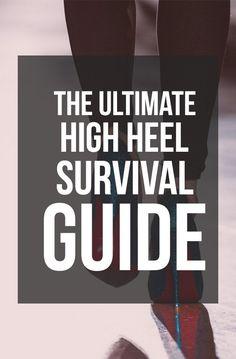 Coaching, Walking In High Heels, How To Wear Heels, Prom Heels, Flyer, Designer Heels, Survival Guide, Me Too Shoes, Sexy