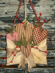 stunning rustic Valentine's Day decorating ideas - stunning rustic Valentine's Day decorating ideas, - Valentine Day Wreaths, Valentines Day Decorations, Valentine Day Crafts, Holiday Crafts, Valentines Day Decor Rustic, Vintage Valentines, Love Valentines, Valentine Heart, Saint Valentine