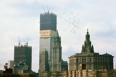 Twin Towers and the Metropolis from 1970 to 2011 - LightBox