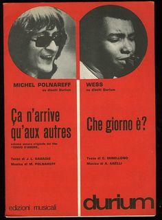 Michel Polnareff + Wess (spartito)